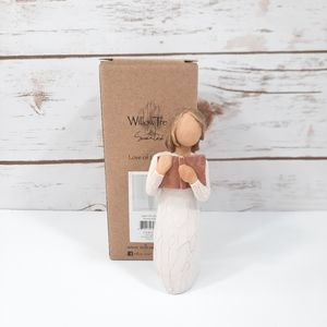 "New Willow Tree ""Love of Learning"" Rustic Figurine"